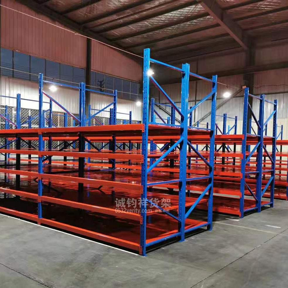 即墨汽车城附近某配件厂定制中仓已顺利安装完成
