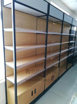 青岛货架—木纹转印货架